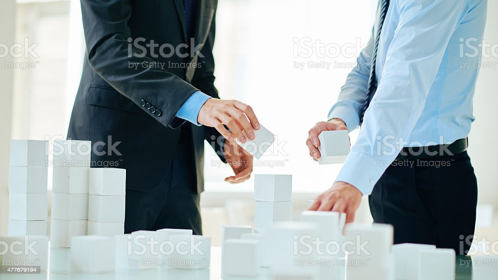 Planning strategy of growing stock photo