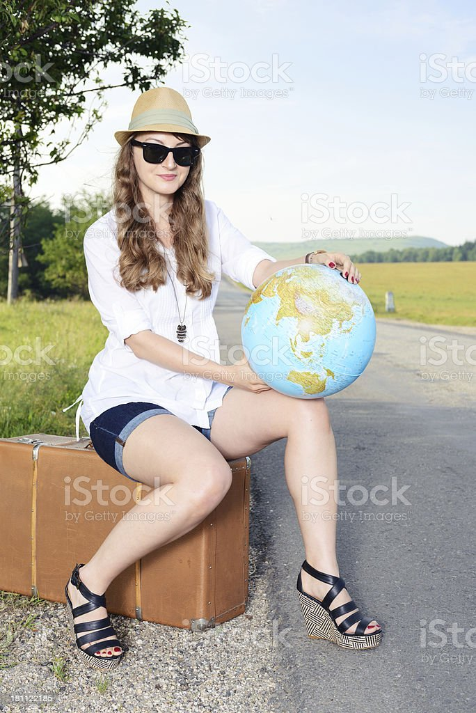 planning  the next trip royalty-free stock photo