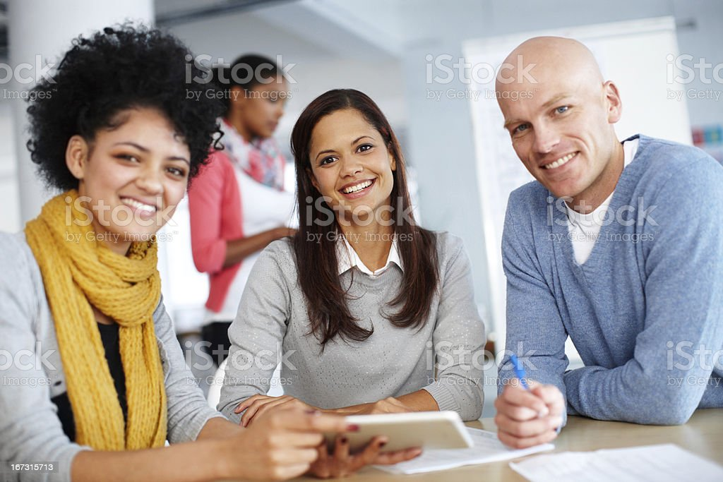Planning their next move royalty-free stock photo