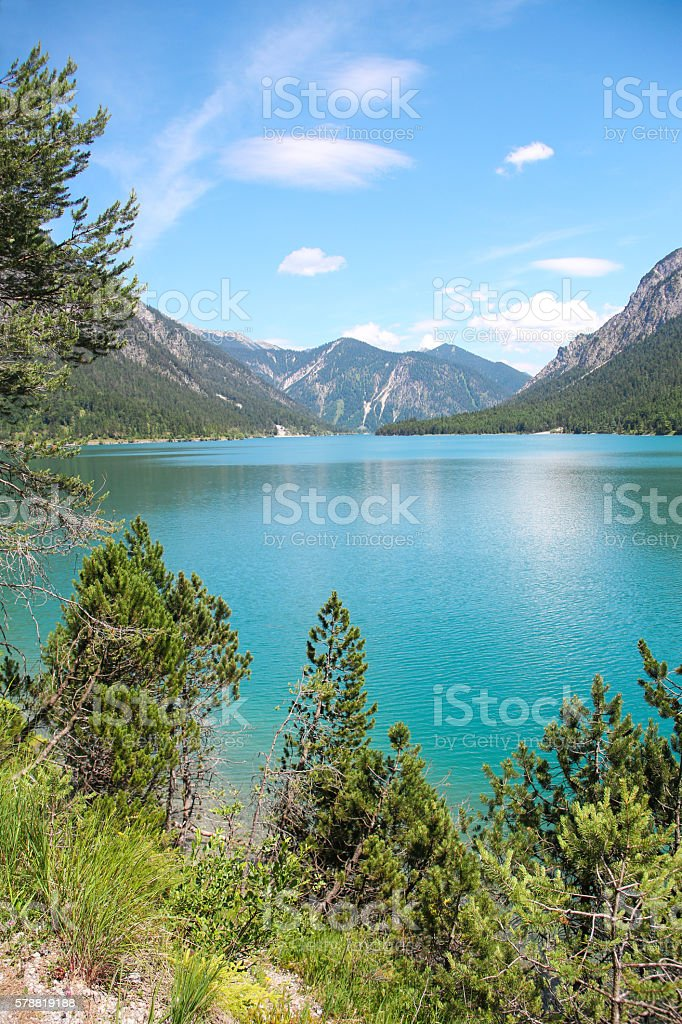 Plansee Austria stock photo