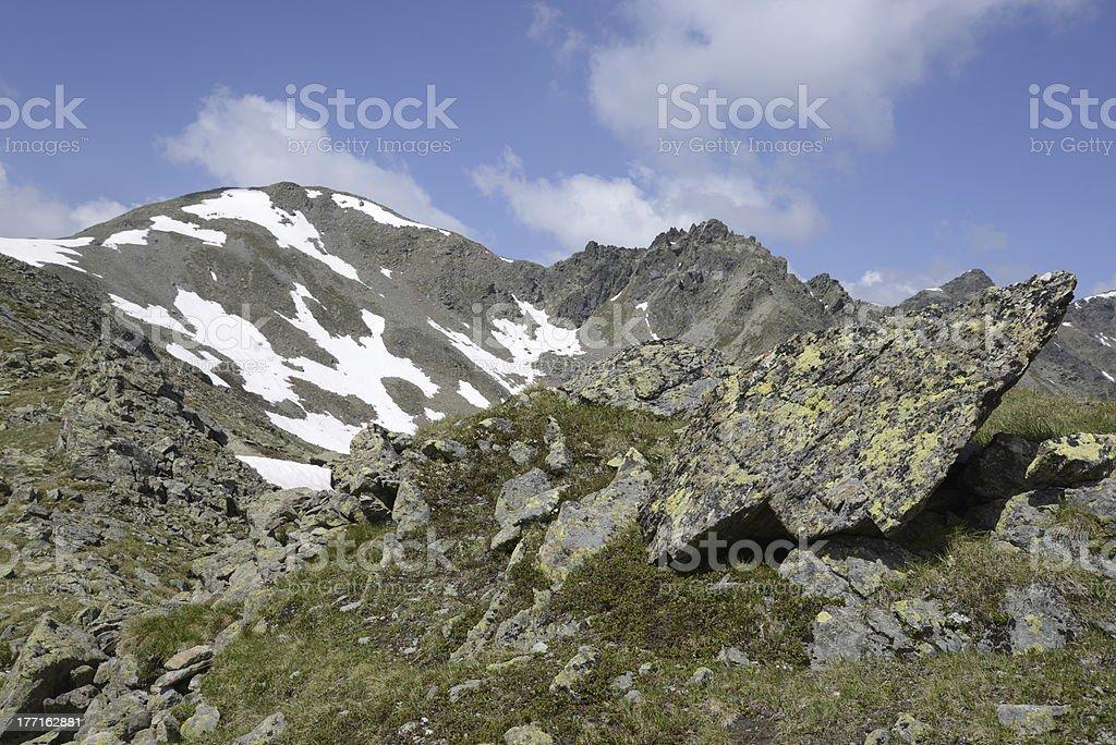 Planskopf, a mountain in Austria stock photo