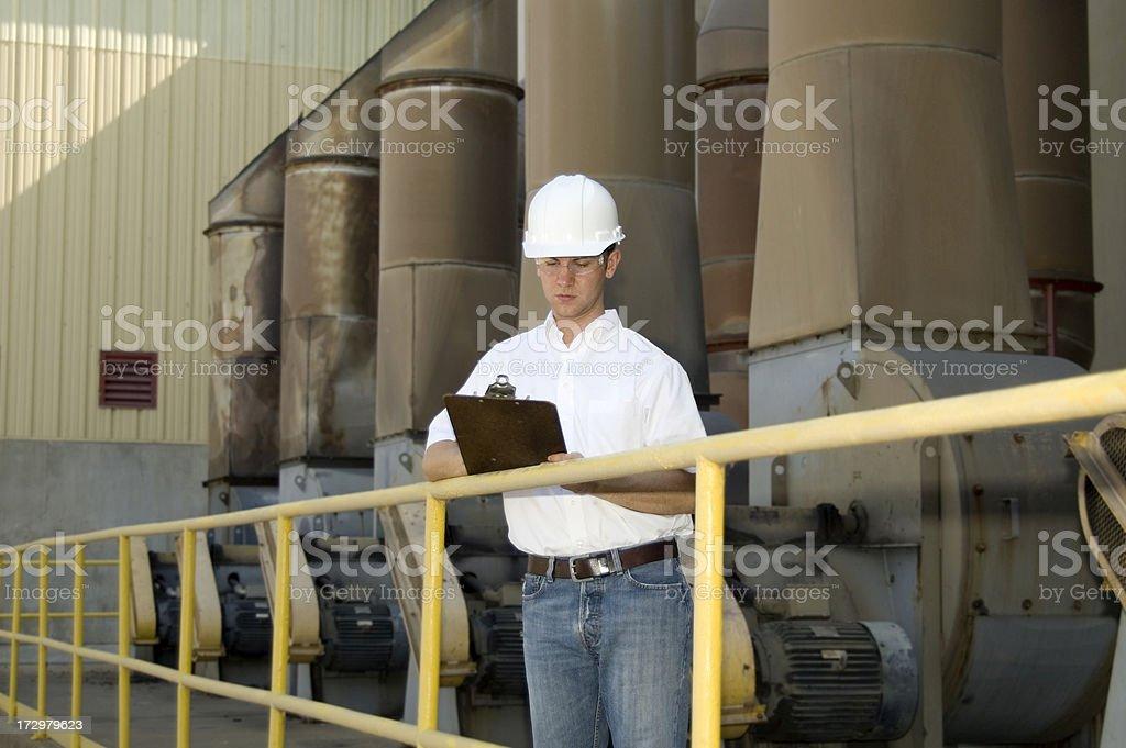 Plant Engineer royalty-free stock photo
