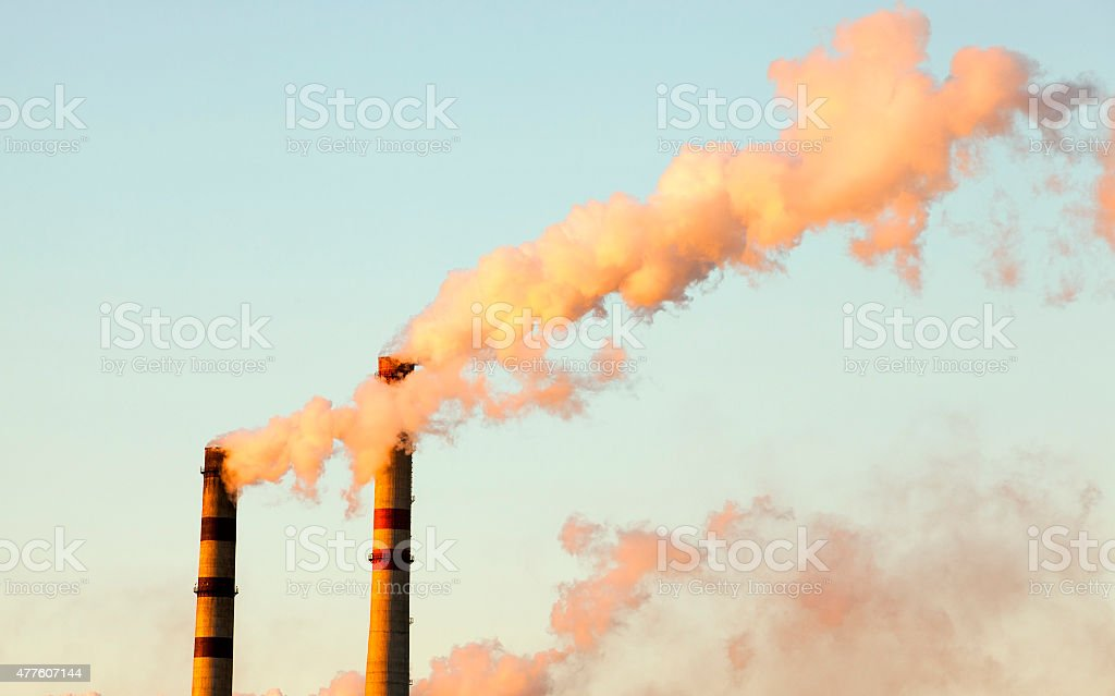 plant pipes stock photo