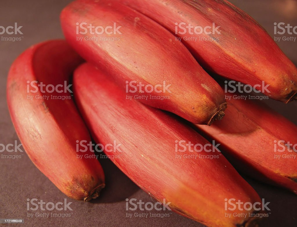 Plantain bananas royalty-free stock photo