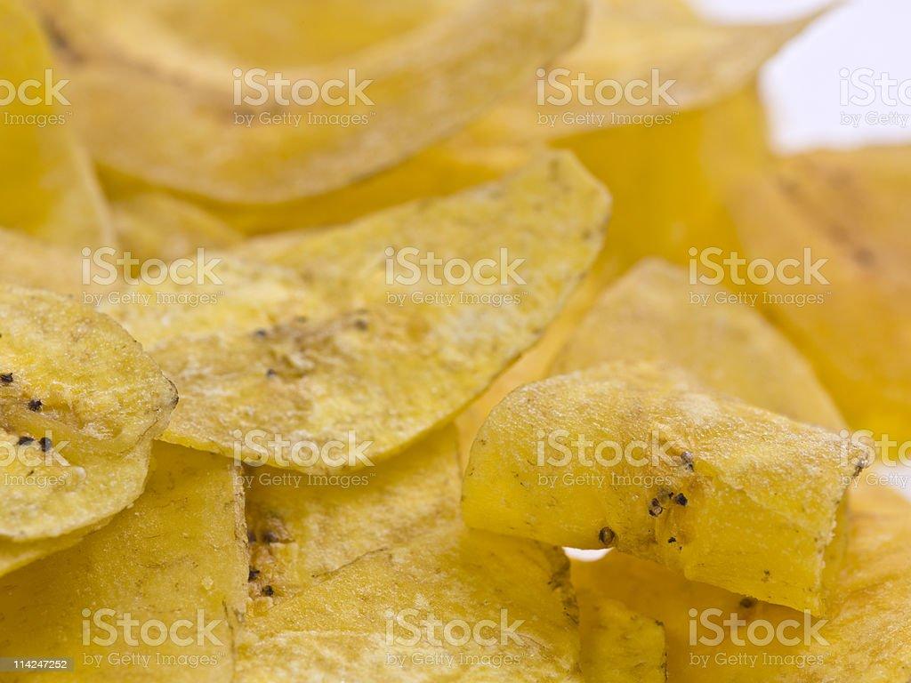 Plantain chips (mariquitas-ladybugs) stock photo