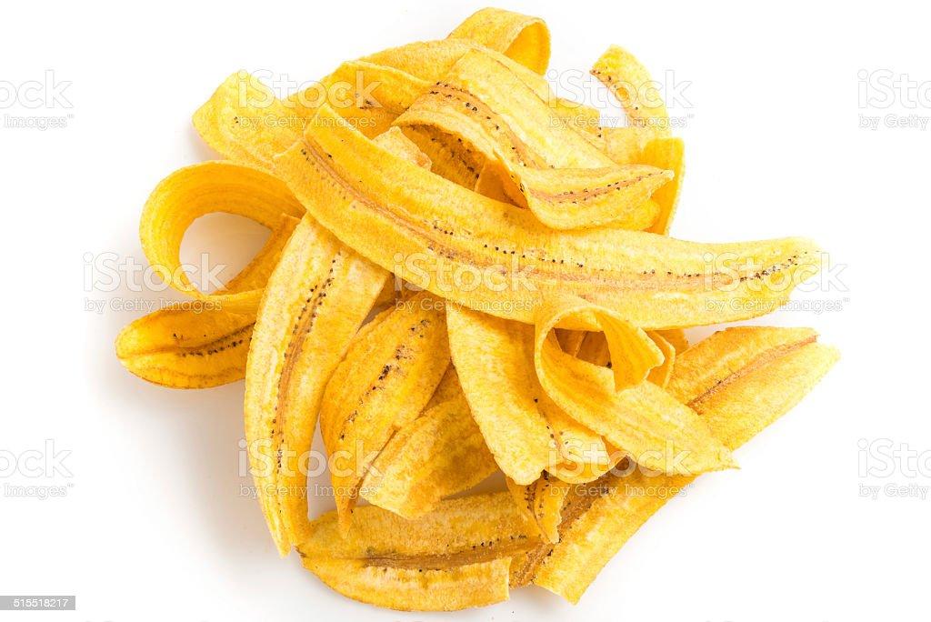 Plantain Chips (Mariquitas) stock photo