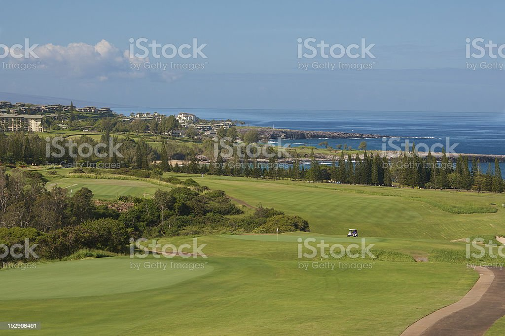 Plantation golf course royalty-free stock photo