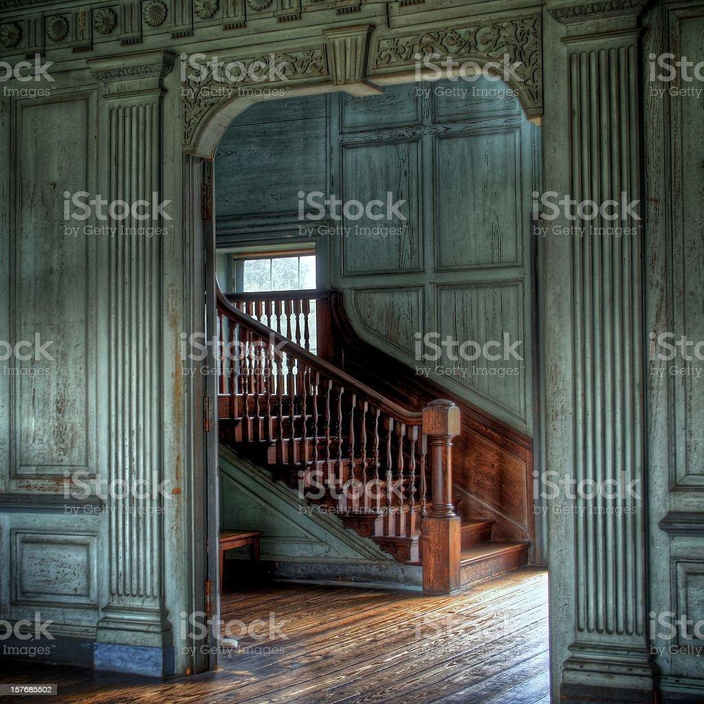 Plantation House royalty-free stock photo