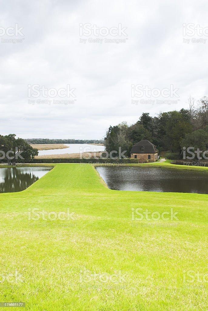 'Plantation scenery (Middleton Place, SC) - III' stock photo