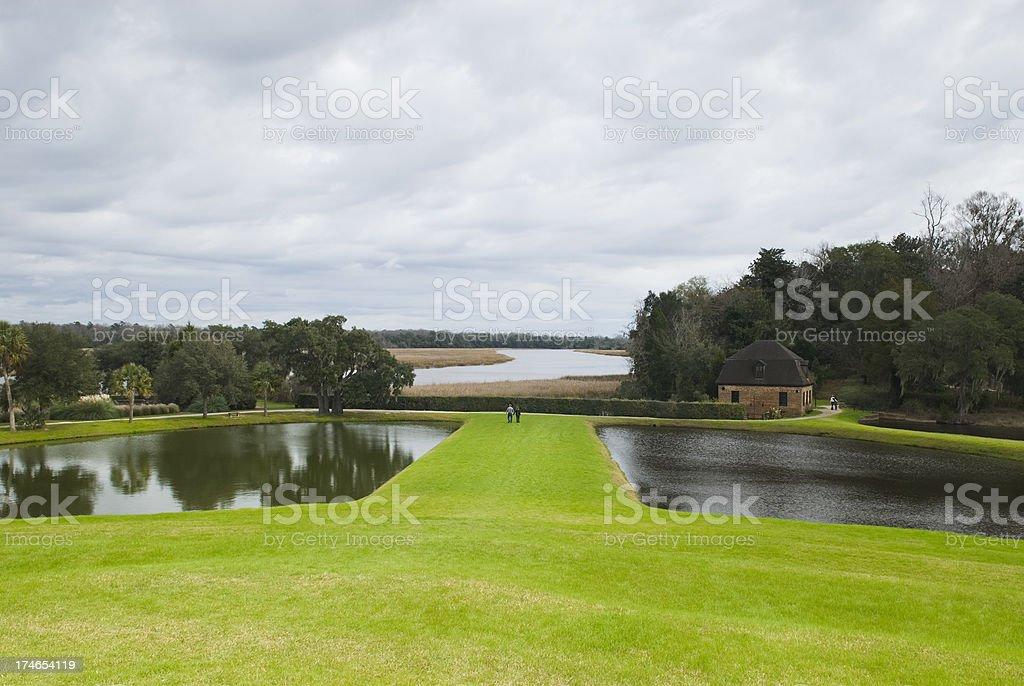 'Plantation scenery (Middleton Place, SC) - IV' stock photo
