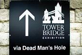 Plaque on Tower Bridge