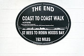 Plaque,  Robin Hood's Bay,  Coast To Coast Walk