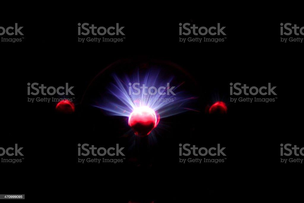 Plasma Ball -01 royalty-free stock photo