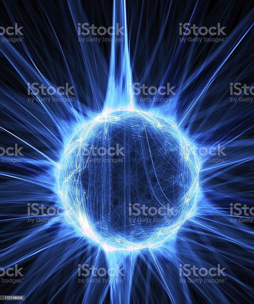Plasma Ball royalty-free stock photo
