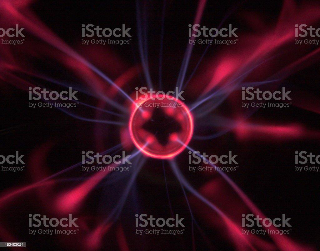 Plasma Ball stock photo