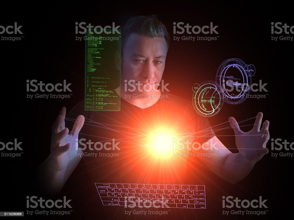 Plasma Energy stock photo