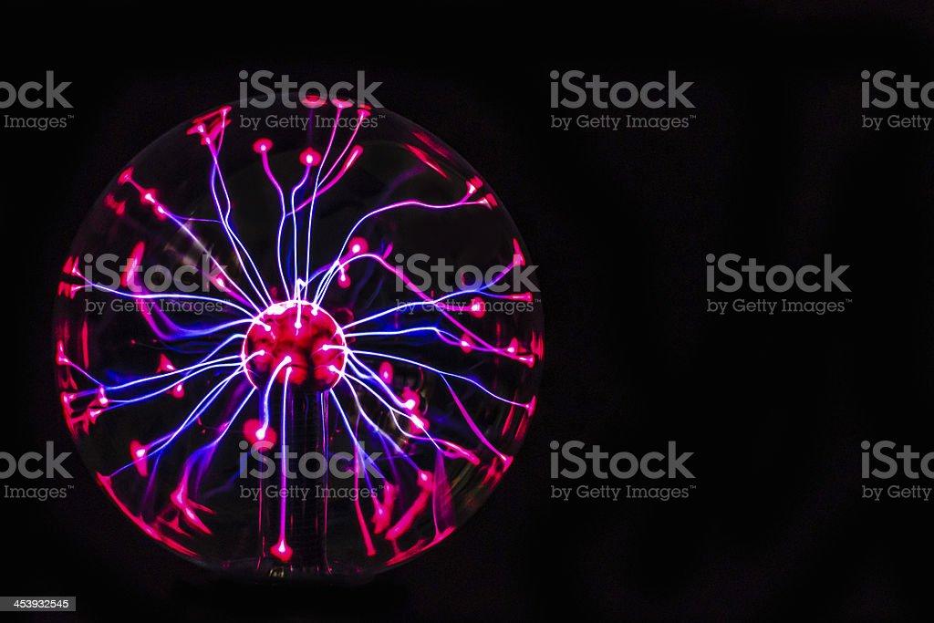 Plasma Globe stock photo