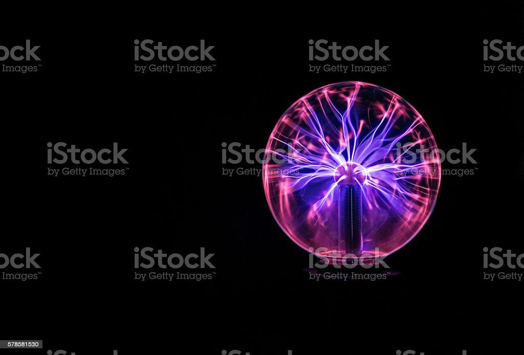 Plasma Globe royalty-free stock photo