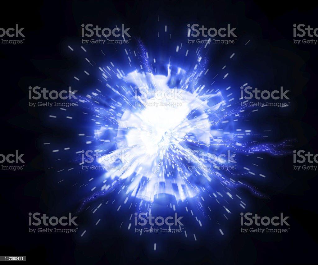 Plasma royalty-free stock photo