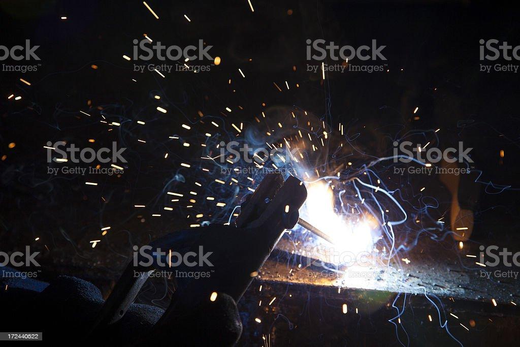 Plasma Splatter stock photo