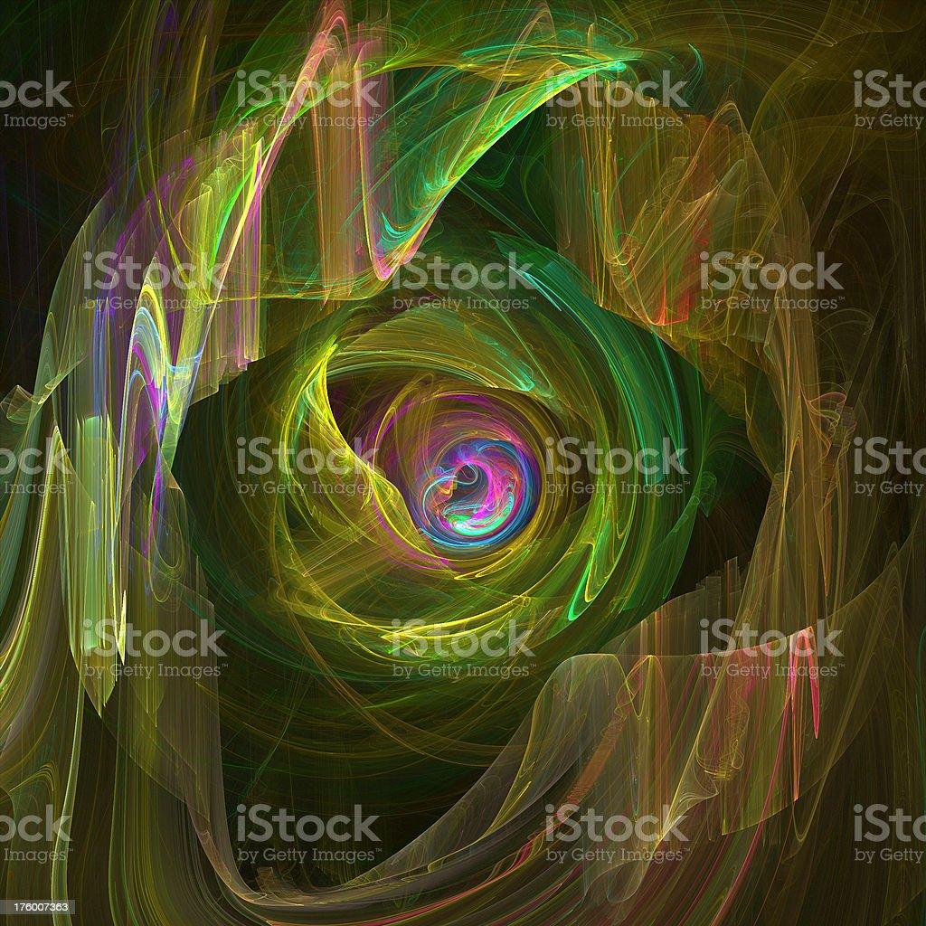 Plasma Swirl royalty-free stock photo