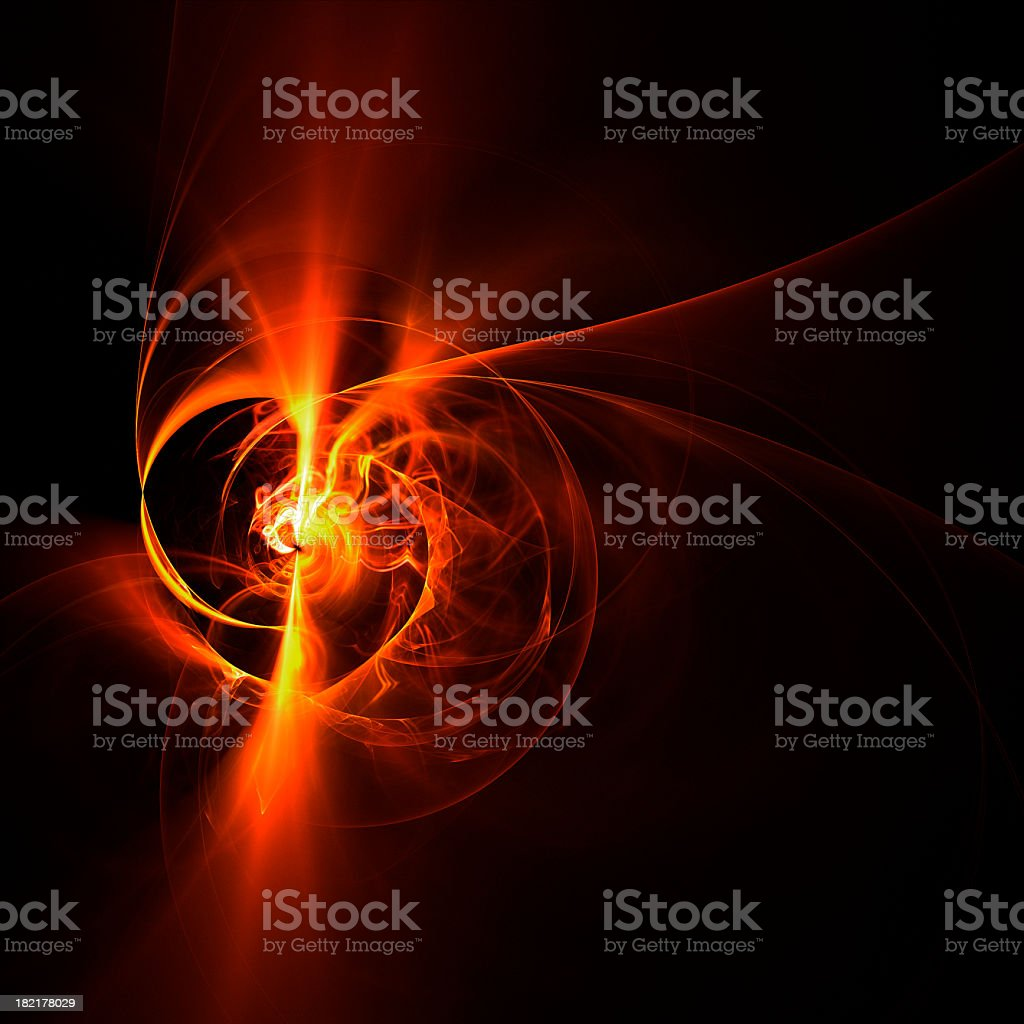 Plasma Swirl stock photo