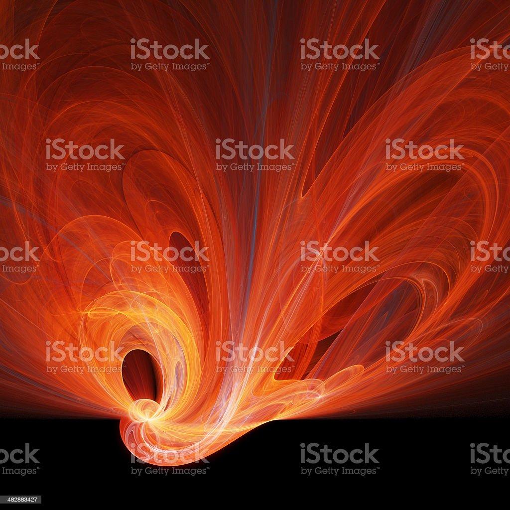 Plasma swirls royalty-free stock photo