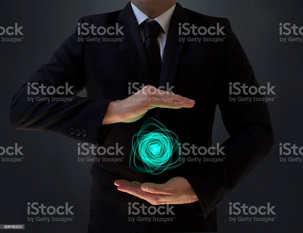 Plasma Technology stock photo