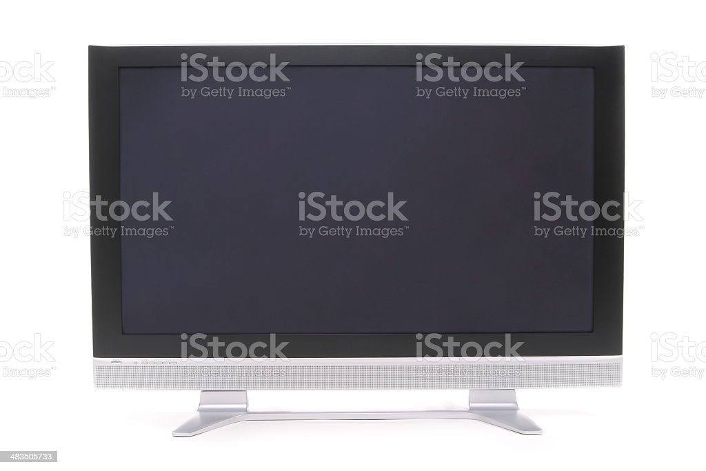 Plasma TV 2. stock photo