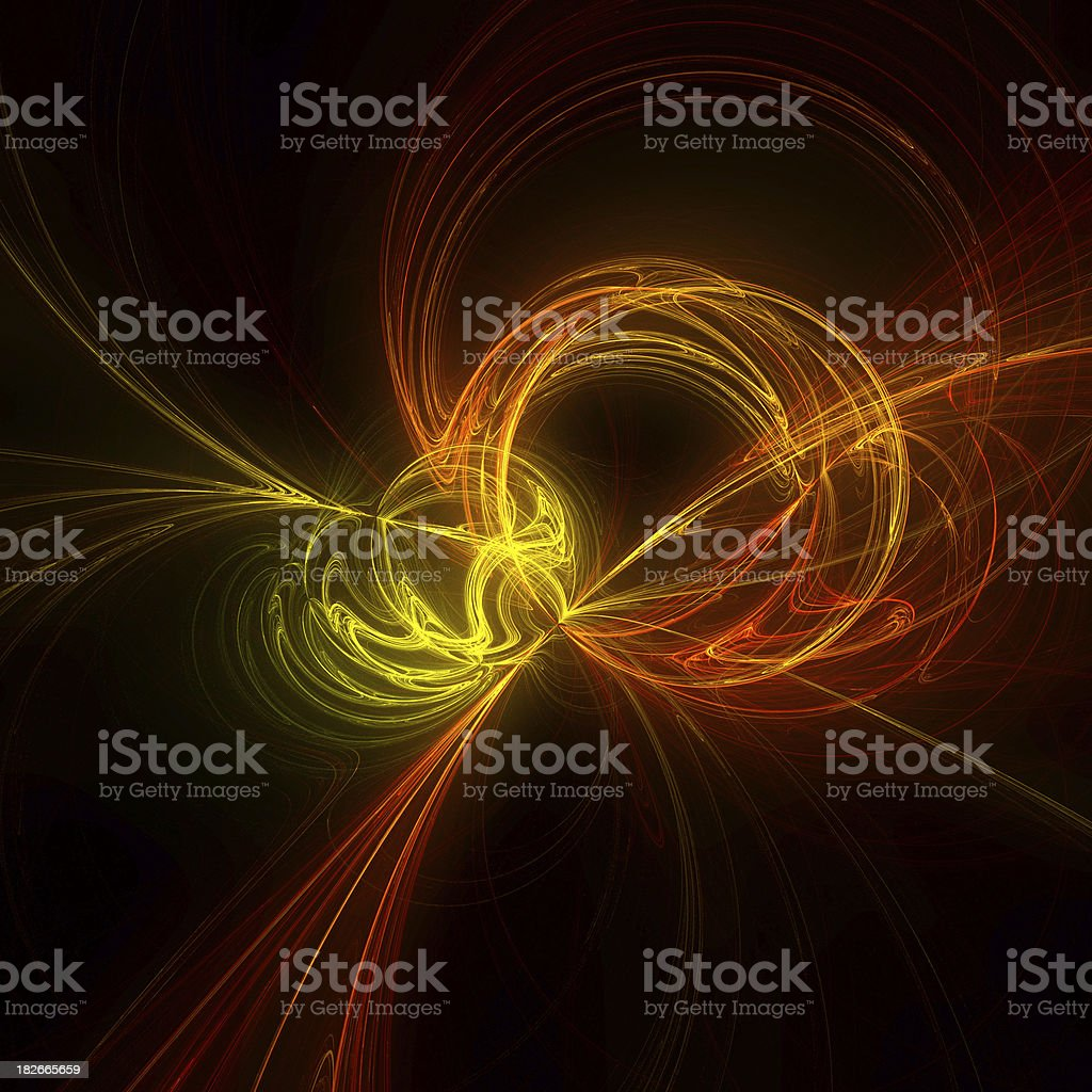 PlasmaLights™  CircleFlow stock photo