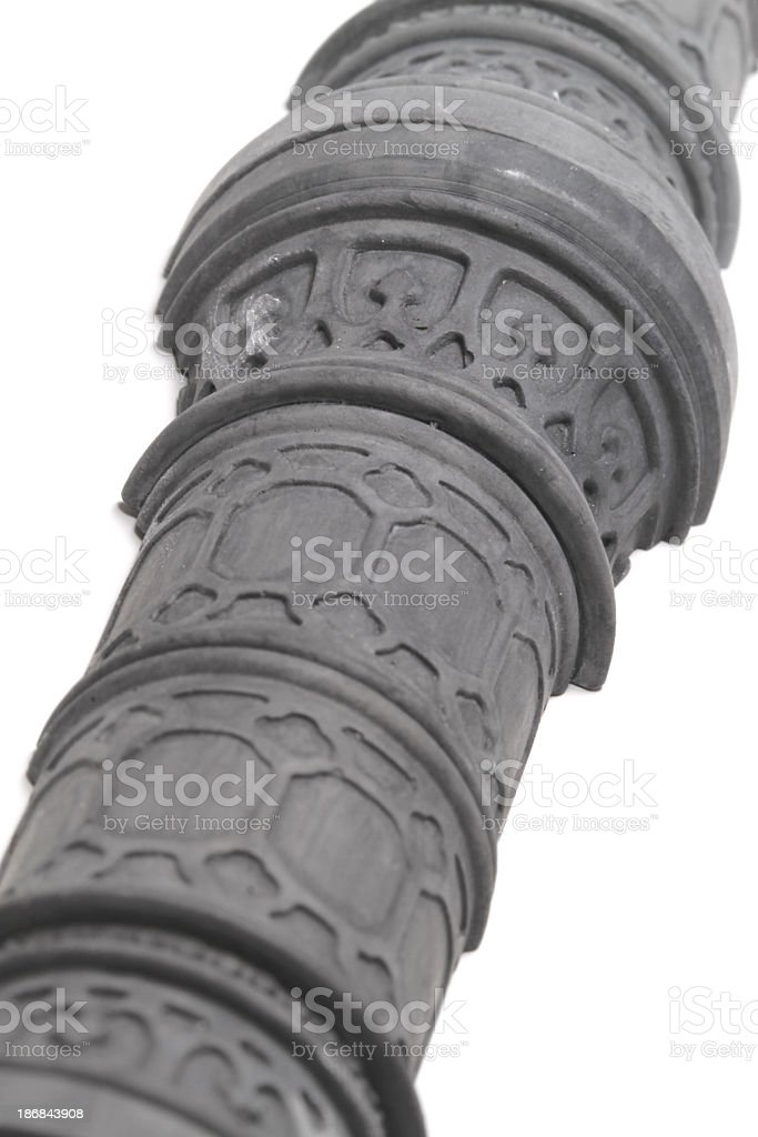 Plaster Gothica royalty-free stock photo