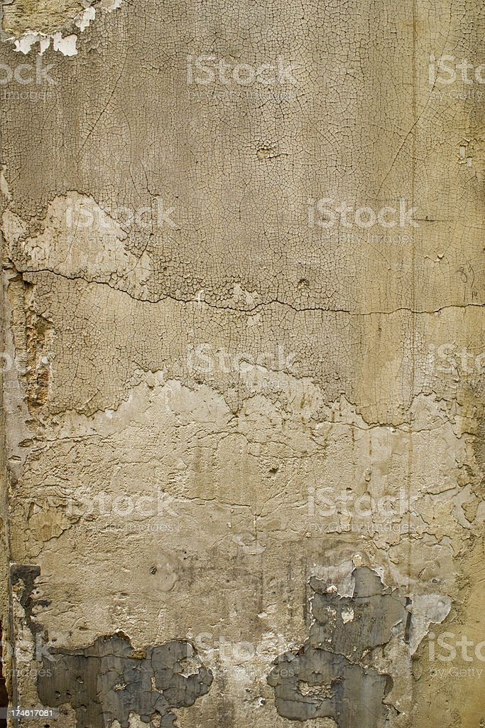 Plastered Wall royalty-free stock photo