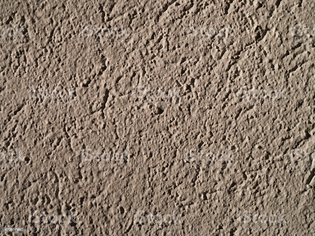 Plastered Wall stock photo
