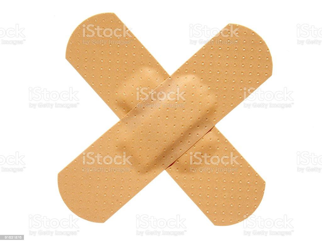 plasters stock photo