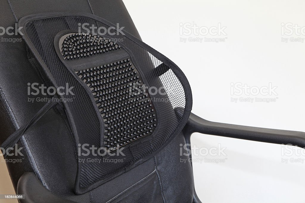 plastic back support royalty-free stock photo