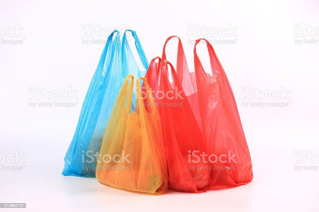 Plastic bag stock photo
