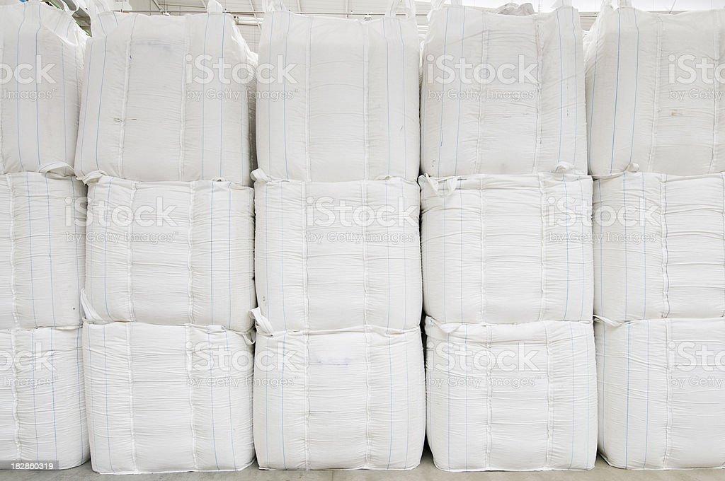 Plastic bags stock photo
