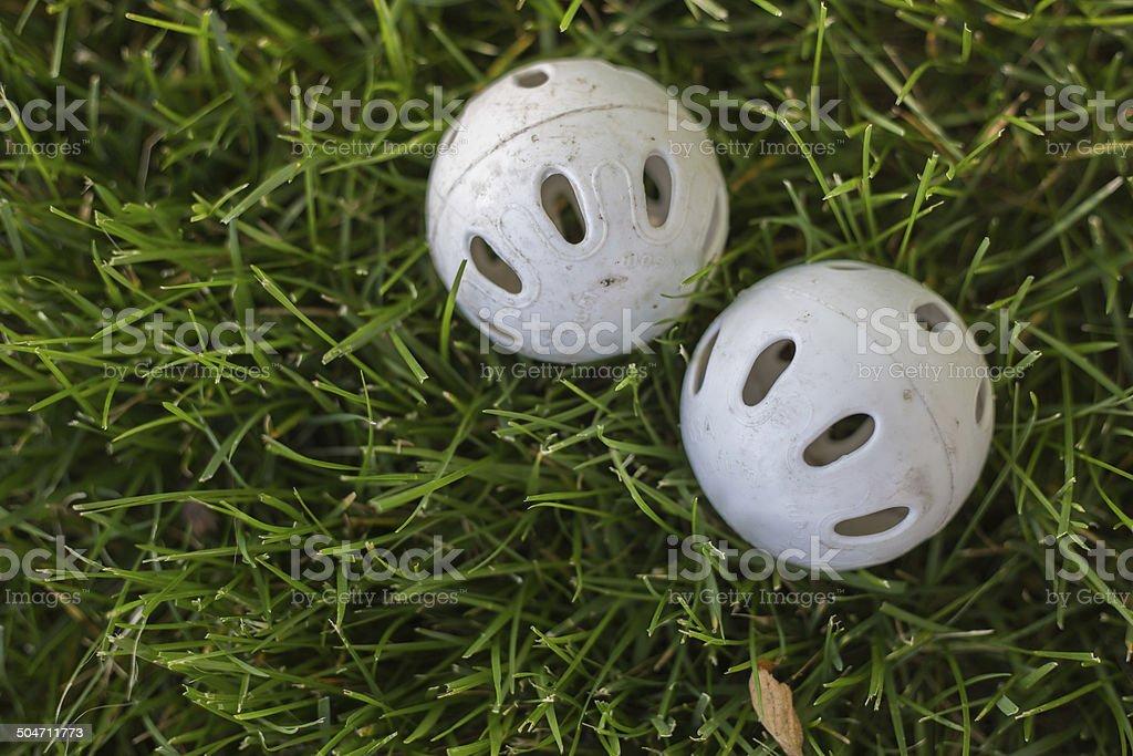 Plastic Balls stock photo