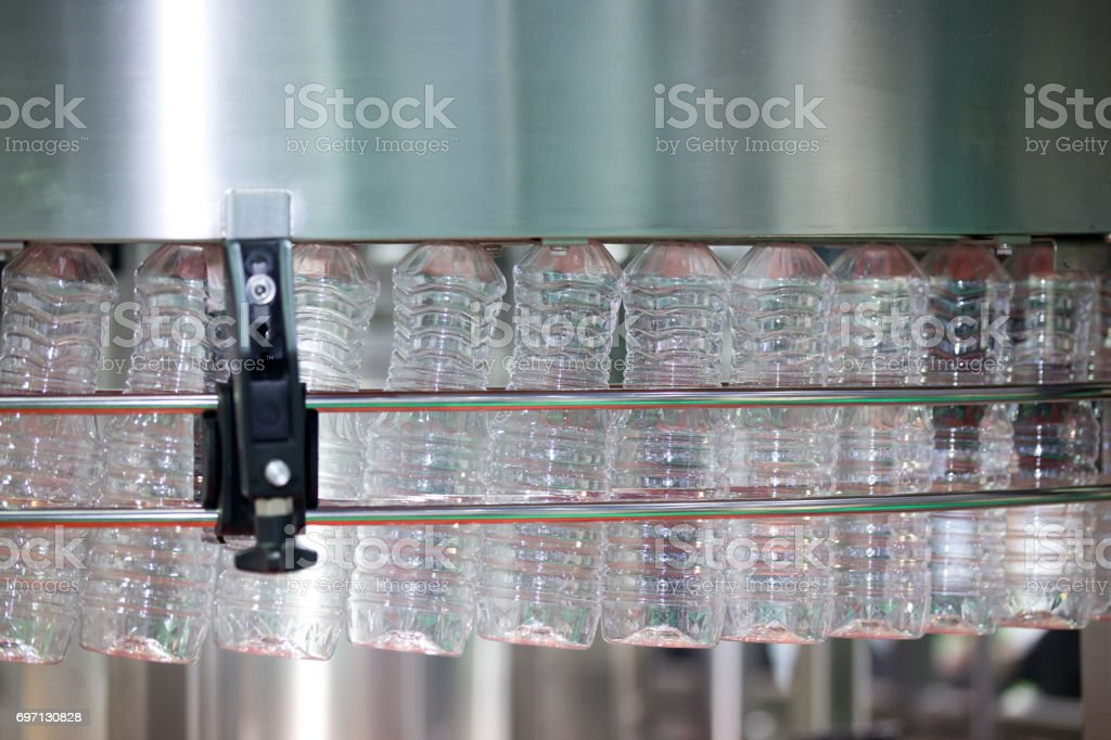 Plastic bottle manufacturing industrial