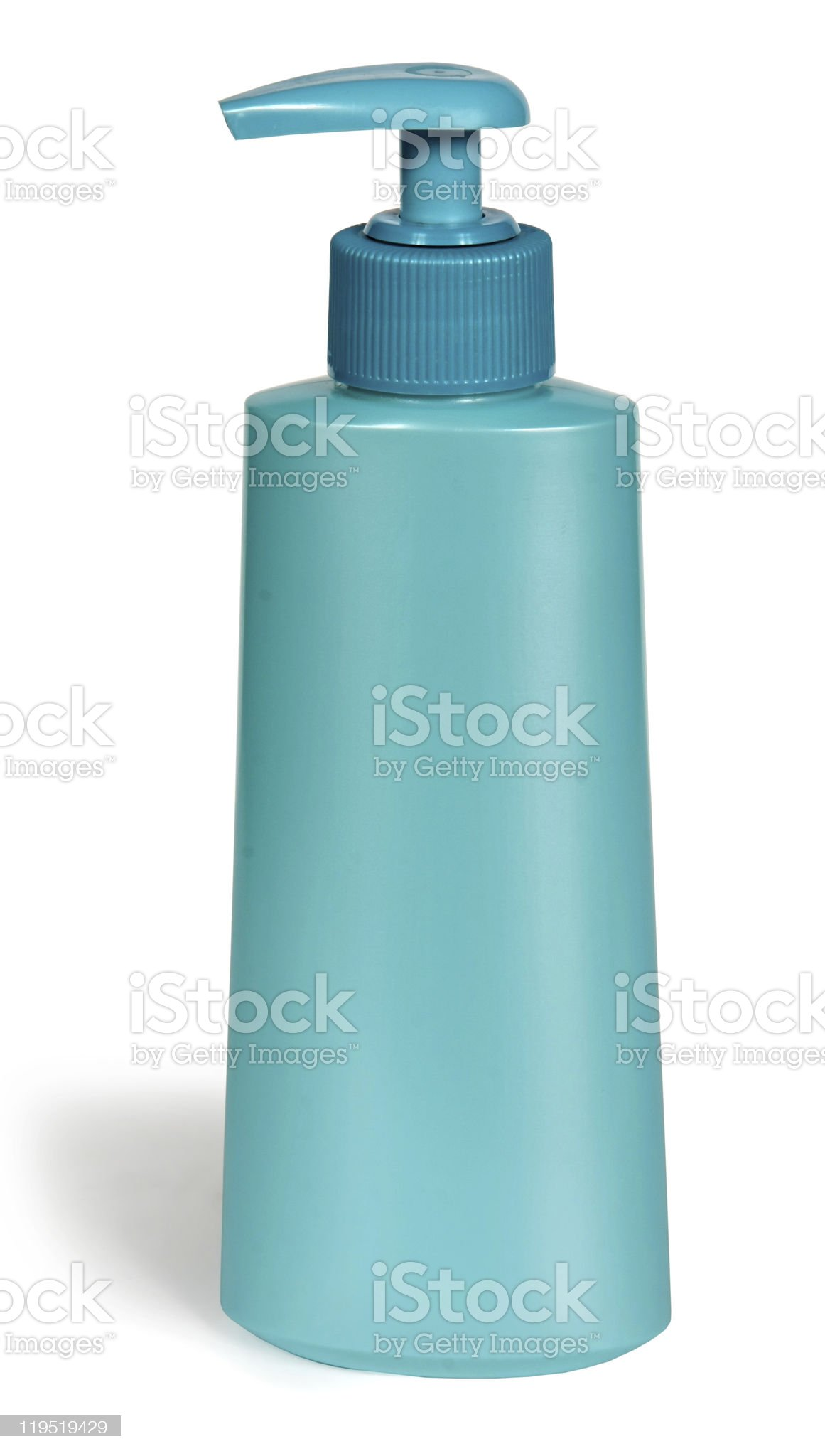 Plastic bottle with the pump royalty-free stock photo