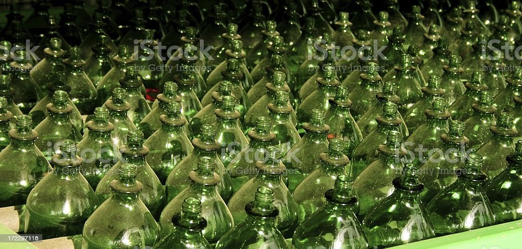 plastic bottles royalty-free stock photo