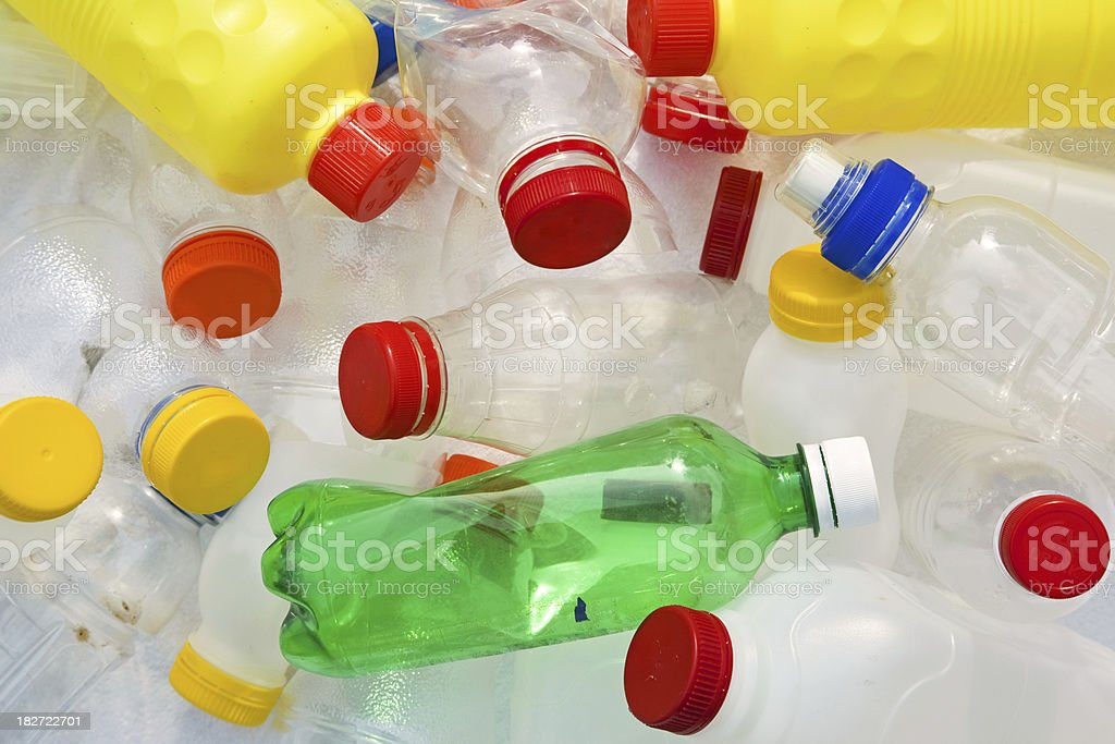 Plastic bottles # 8 XXXL royalty-free stock photo