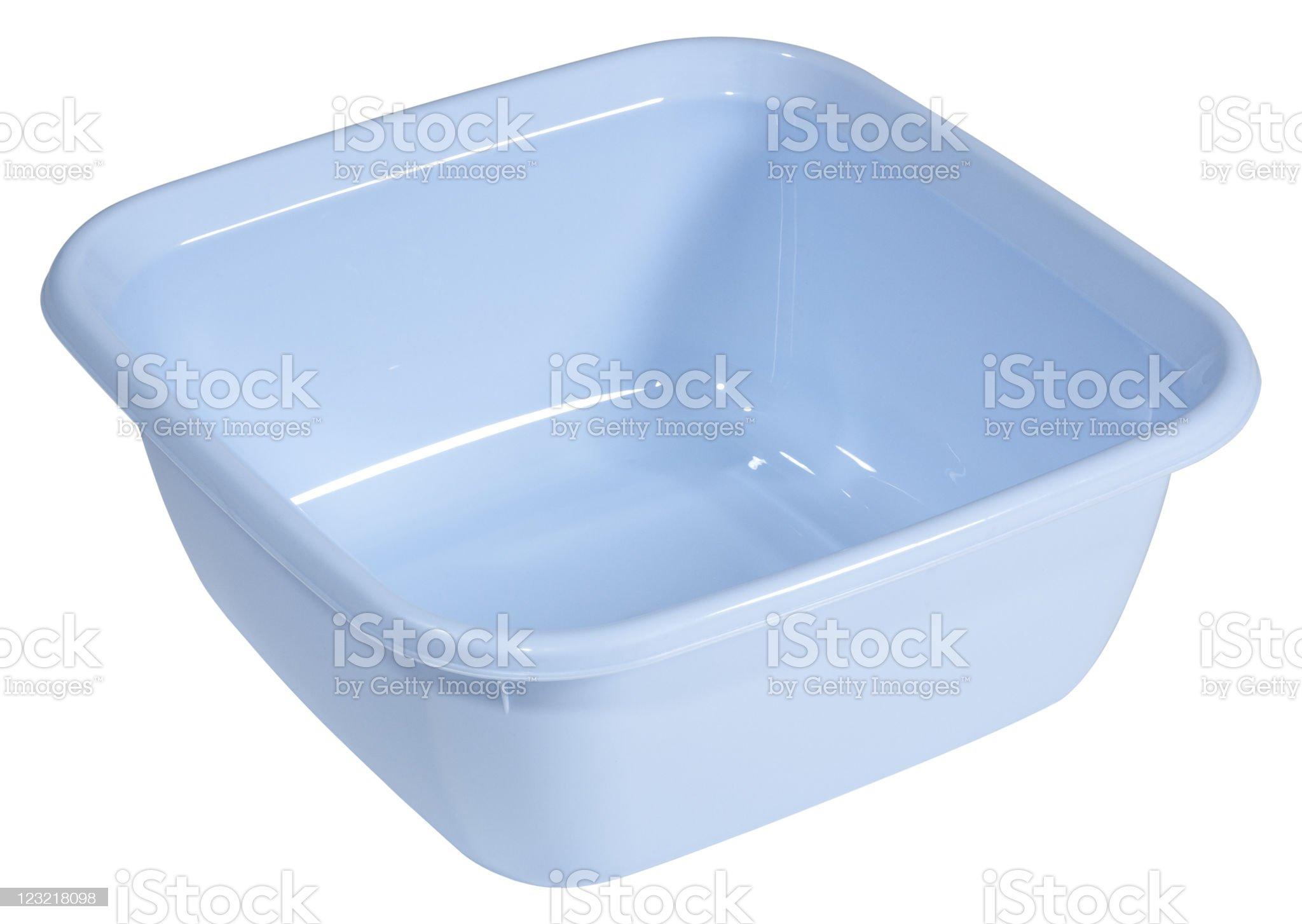 Plastic Bowl royalty-free stock photo