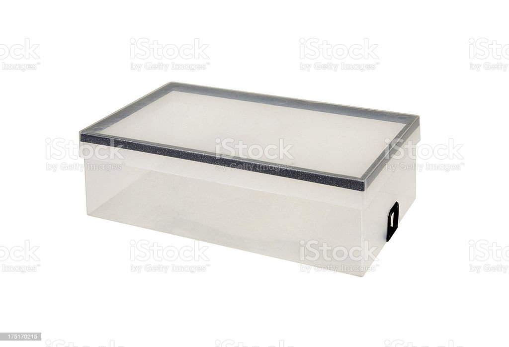 Plastic Box+Clipping Path (Click for more) royalty-free stock photo