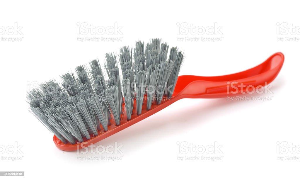 Plastic brush stock photo