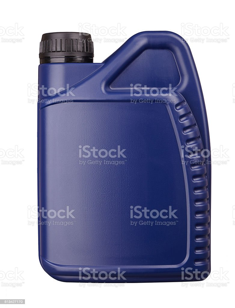 plastic canister stock photo
