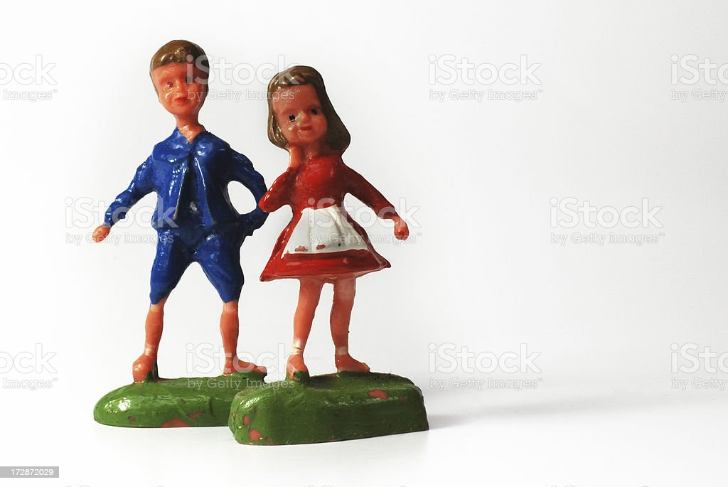 Plastic Children royalty-free stock photo