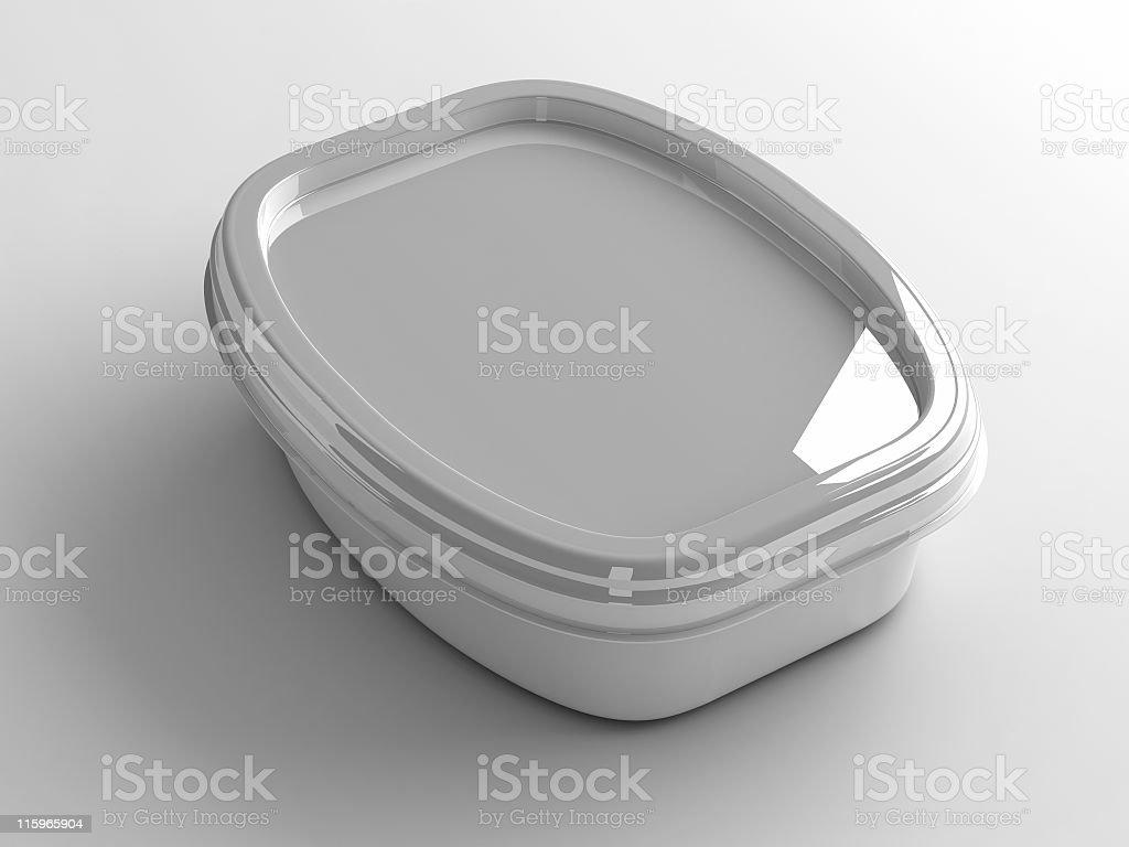 plastic container stock photo