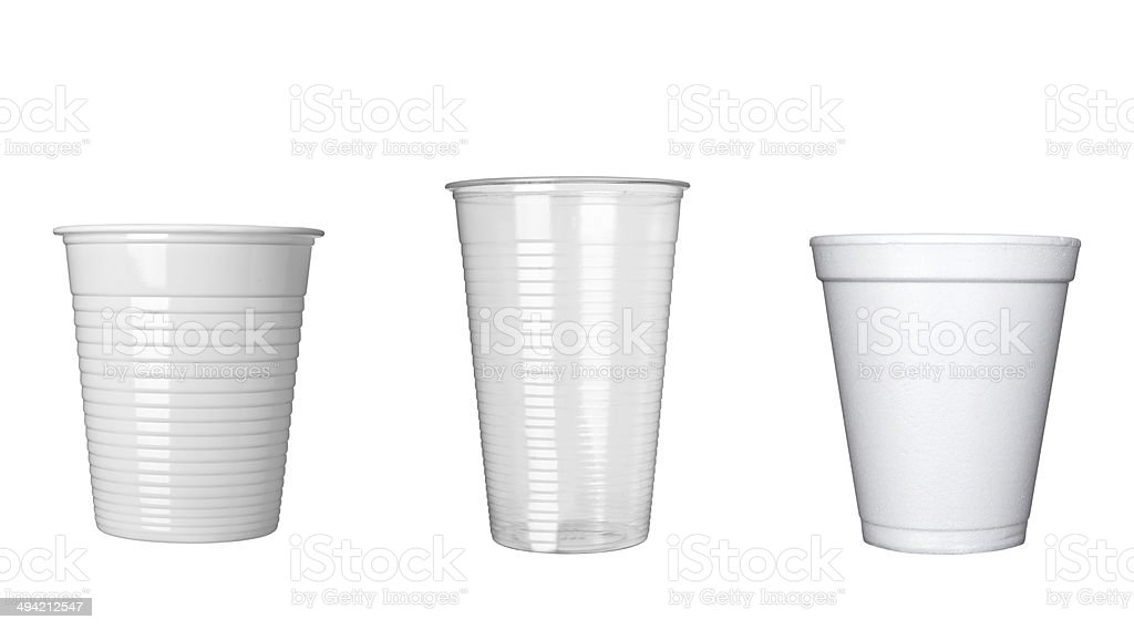 plastic cup of coffee dring beverage food office stock photo
