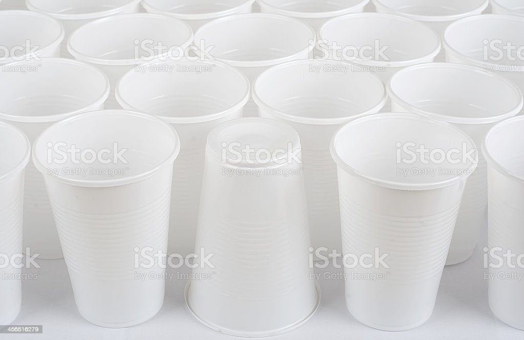 Recipientes de plástico foto de stock libre de derechos